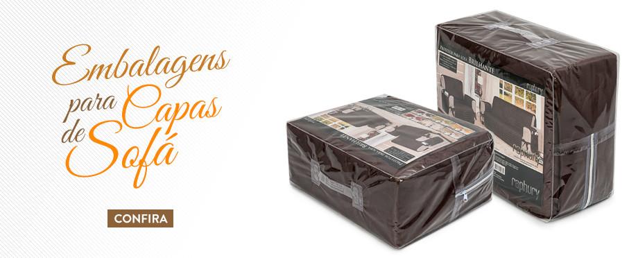 Embalagens para Capas de Sofá